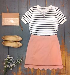 Our stylists at Covent Garden put together this sweet summertime outfit.