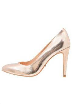 Bist du bereit für einen glänzenden Auftritt? Buffalo High Heel Pumps - rose gold für 59,95 € (17.03.16) versandkostenfrei bei Zalando bestellen.