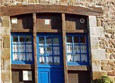 La maison bleue - Becherel, Bretagne
