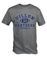 Dillon Panthers 33 T Shirt Ash Grey Friday Night Lights Tim Riggins American
