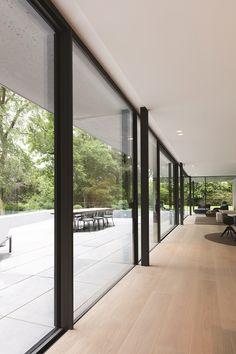 Hi-Finity Aluminium Patio Doors House Extension Design, Interior Architecture, Pavilion Architecture, Classical Architecture, Sustainable Architecture, Residential Architecture, Contemporary Architecture, House Windows, House Extensions