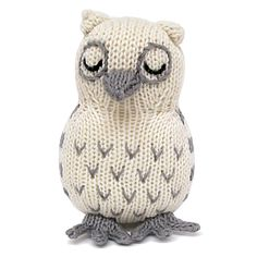 Organic Owl Rattle - Baby Toys -  - Estella - 2