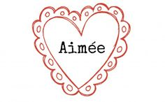 "Aimee is of Old French origin and means ""beloved"" (in French, the verb aimer means to love). Alternative spellings include Amy, Amie, and Amia. For naming inspiration, look no further than popular singer of sad love songs, Aimee Mann."