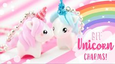 Yay for unicorns! In this video I show you how to make unicorn friendship charms for you and your friend! ▽Info, tips & ideas▽ -Want to share with more than ...
