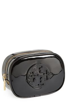 Tory Burch 'Small' Patent Cosmetics Case available at #Nordstrom