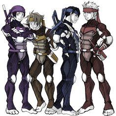 Future guys by ~FREAKfreak on deviantART tmnt as humans Tmnt 2012, Ninja Turtles Art, Teenage Mutant Ninja Turtles, Gi Joe, Tmnt Human, Cartoon Characters As Humans, Tmnt Comics, Cartoon As Anime, Turtle Love