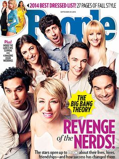 ON NEWSSTANDS 9/19/14: How the stars of The Big Bang Theory forged incredible friendships. Plus: This year's best dressed list and more!