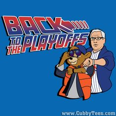CHICAGO CUBS BACK TO THE FUTURE 2015 WORLD SERIES PREDICTION T SHIRT | CUBBY TEES