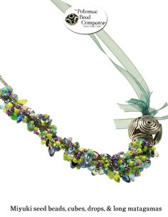 Fringe bracelet from The Potomac Bead Company  http://www.potomacbeads.com