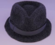 Felted Hats CollectionOOAK Gray Felted Wool Fedora by niseylee a63eb88c85a
