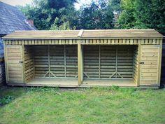 Log Stores Kindling Stores - The Wooden Workshop, Bampton, Devon