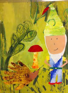 Kids Art Project: Garden Gnomes