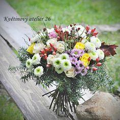 Květinový Ateliér 26 - podzimní kytice ... https://www.facebook.com/kvetinovyatelier26/