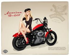 There's nothing finer then a beautiful girl posing on a motorcycle and Harley Davidson has taking this concept to another level with…