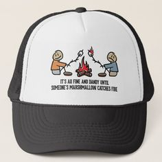 Funny Camping Saying and Cartoon Trucker Hat hiking trips usa, montana hiking, womens hiking gear Wilderness Survival, Survival Gear, Survival Quotes, Camping Survival, Survival Prepping, Winter Survival, Survival Supplies, Outdoor Survival, Survival Skills