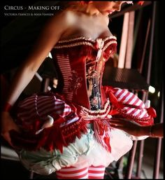 Circus costume by Victoria Frances and Maya Hansen