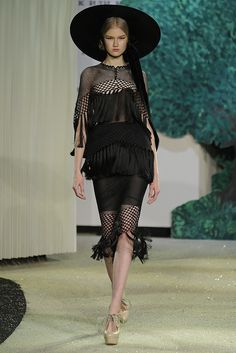 Ulyana Sergeenko Spring Couture 2013 - Slideshow - Runway, Fashion Week, Reviews and Slideshows - WWD.com