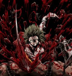 anime blood and gore