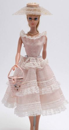 Barbie wearing Plantation Belle--She so reflected the times she was in!  A little girl could dream...