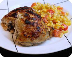 Rosemary Sriracha Chicken Thighs by kae71463, via Flickr