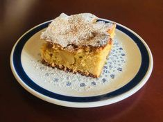 Μηλόπιτα νηστίσιμη Tiramisu, French Toast, Apple Cakes, Breakfast, Ethnic Recipes, Food, Meal, Apple Dump Cakes, Eten