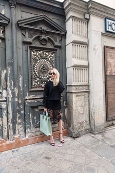 Paris Fashion Week / H&M Lace skirt | Alicepoint