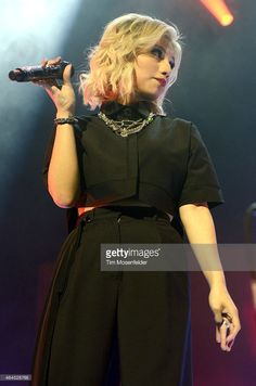 OAKLAND, CA - FEBRUARY 25: Kirstie Maldonado of Pentatonix performs the opening night of the group's 'On My Way Home' tour at The Fox Theater on February 25, 2015 in Oakland, California...