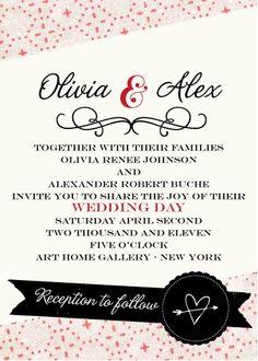 deluxemodern wedding invitations www.deluxemoderndesign.com