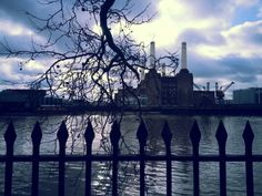Battersea Power Station moody winter day taken with Samsung G3