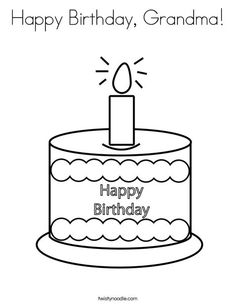 happy 34 birthday coloring pages - photo#8