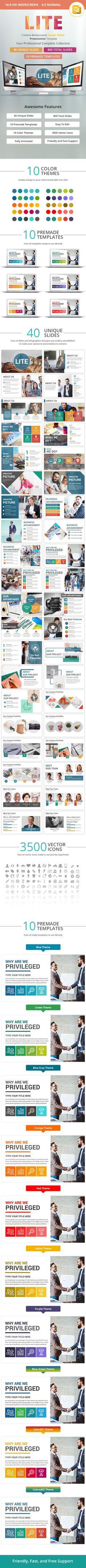 Smooth Multipurpose Google Slides Presentation Tem | Presentation ...