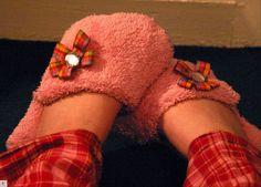 Cozy Towel Slippers Tutorial