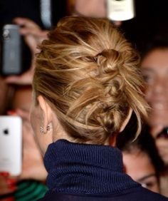 Deconstructed Knotted Updo