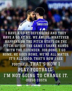 Diego Costa...I am a defender.