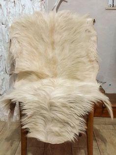 Genuine Goatskin Pelt Rug 100 Natural By BerberPeltWorks