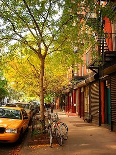 Lower East Side, Manhattan, New York City.love the atmosphere of the Lower East side! New York City, Ville New York, A New York Minute, Autumn In New York, Nyc Fall, Nyc In The Fall, Alphabet City, Voyage New York, City Photography
