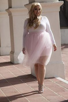 ZELIE FOR SHE Plus Size Fashion | TRUE LOVE - Pretty in pink tutu