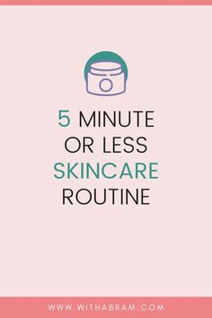 If you would have asked me a year ago if I had a skincare routine I would have said no, however, this is life-changing. I'm sharing my favorite skincare routine that takes me 5 minutes or less! Get In The Mood, Beauty Tips For Women, Do You Know What, Health And Fitness Tips, Skincare Routine, Life Changing, Lifestyle Blog, Boss, Skin Care