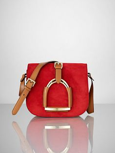 cc190120bb4 Stirrup Flap Shoulder Bag - Ralph Lauren Handbags