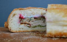 """Sandwich #202–Ziploc Thanksgiving Leftovers Sandwich Giveaway Top Pick: """"The Game Changer"""" Thanksgiving Shooter Sandwich"""