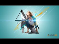 Abstract Art | Photoshop Tutorial | click3d - YouTube Photoshop For Photographers, Photoshop Photography, Photoshop Tutorial, Photoshop Actions, Adobe Photoshop, Photo Manipulation Tutorial, Professional Photographer, Abstract Art, Youtube