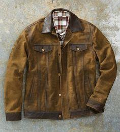 Patrick James Dean Leather Jacket