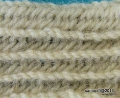 Vad Stitch, UUU/OOOU, M1 from reverse side, downwards