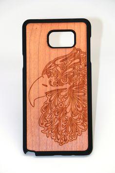 Samsung Note 5 Eagle 2 Slim Wood Case
