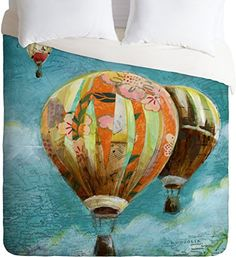 DENY Designs Land of Lulu Herd of Balloons Lightweight Duvet Cover, Twin DENY Designs http://www.amazon.com/dp/B00KYPUA60/ref=cm_sw_r_pi_dp_7NeYub0YZSDC7