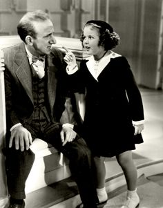 Shirley Temple in Little Miss Broadway, 1938.