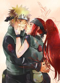 minato and kushina being overprotective | Minato Namikaze And Kushina Uzumaki Road To Ninja the Movie Road to ...