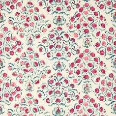 Sanderson - Traditional to contemporary, high quality designer fabrics and wallpapers | Products | British/UK Fabric and Wallpapers | Ottoman Flowers (DSOH225348) | Sojourn Prints & Embroideries