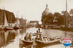 Oude Haven Enkhuizen (jaartal: 1900 tot 1910) - Foto's SERC