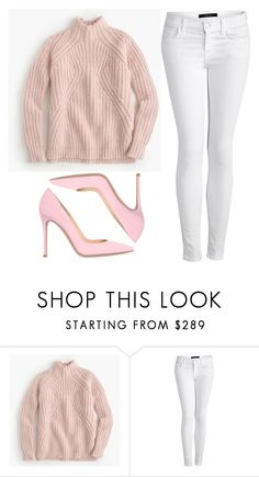 2015/1239 by dimceandovski on Polyvore featuring J.Crew, J Brand and Gianvito Rossi